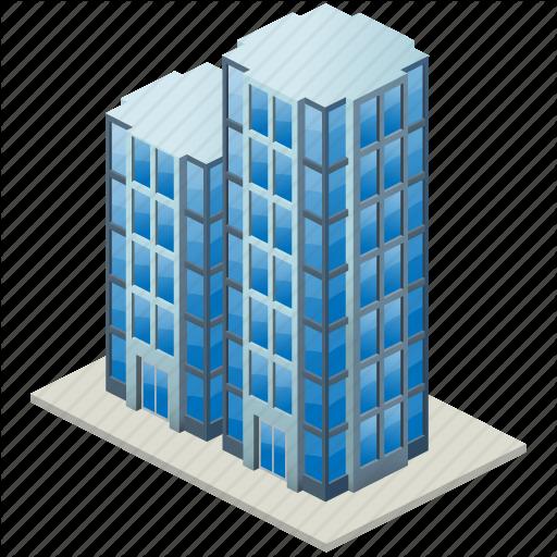 Vector Drawing Skyscraper