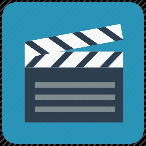 Action, Begin, Clapperboard, Film, Go, Slate Board Icon