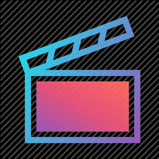 Cinema, Director, Film Slate, Hollywood, Media, Movie, Production Icon