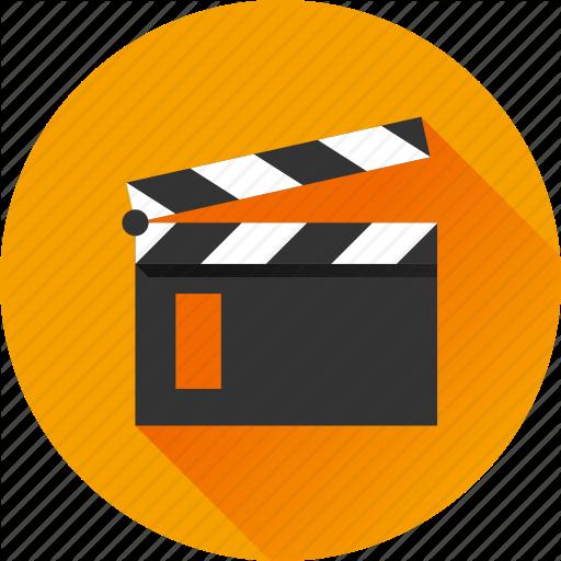 Cinema, Film, Film Slate, Media, Movie, Multimedia, Video Icon