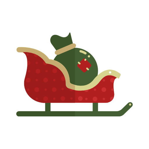Sledge, Christmas Icon Free Of Christmas Icons In Flat