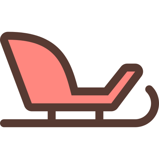 Sledge Sleigh Png Icon