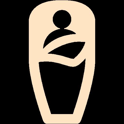 Bisque Sleeping Bag Icon