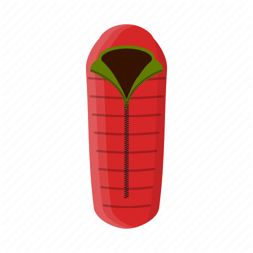 Camping, Equipment, Outdoors, Outfit, Sleeping Bag Icon