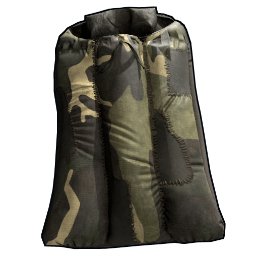 Jungle Camo Sleeping Bag Rust Wiki Fandom Powered
