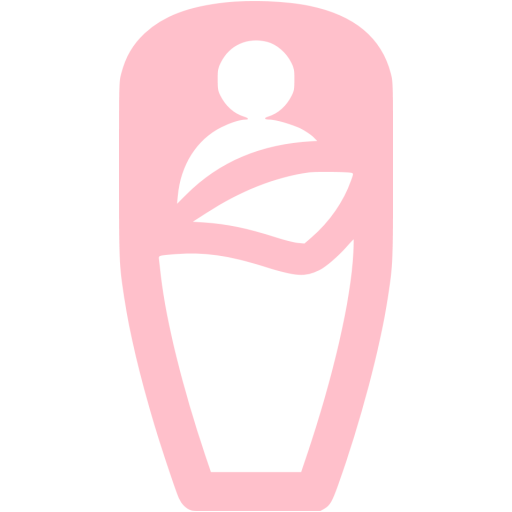 Pink Sleeping Bag Icon