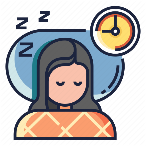 Healthy Life, Lifestyle, Rest, Sleep, Sleeping, Well, Wellness Icon