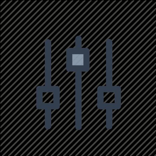 Adjustment, Menu, Settings, Slider Icon