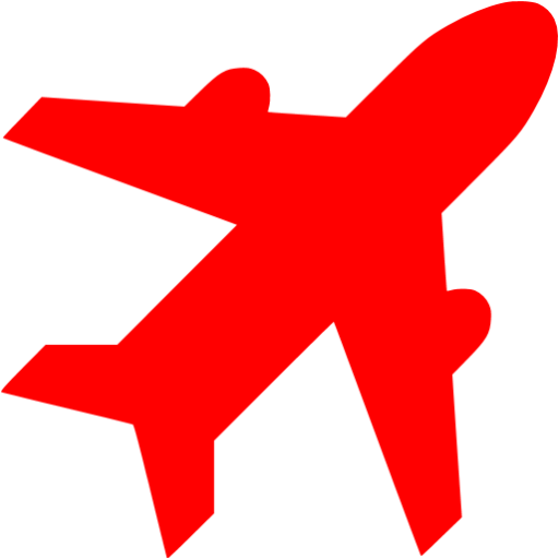 Red Airport Icon