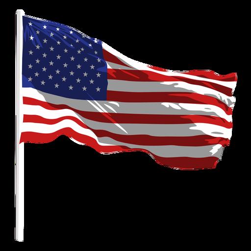 Image Of Usa Flag Waving, Gif, Png, Emoji Flag Images