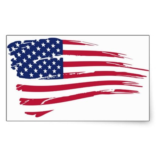 Pegatina Bandera Usa