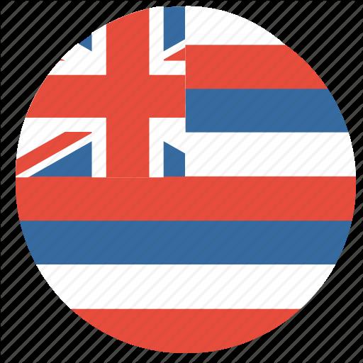 Us Flag Icon Circle