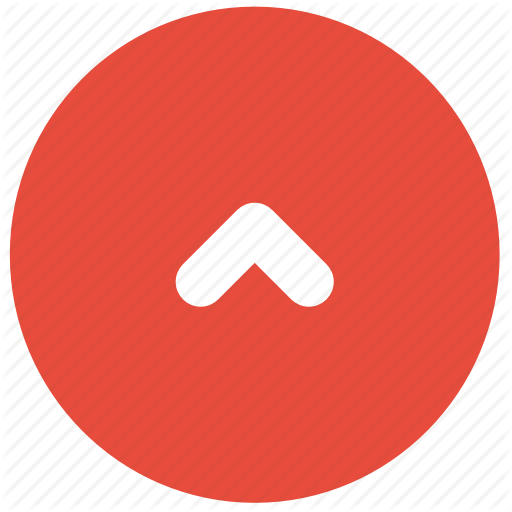 Arrow, Direction, Red, Small, Top, Up Icon