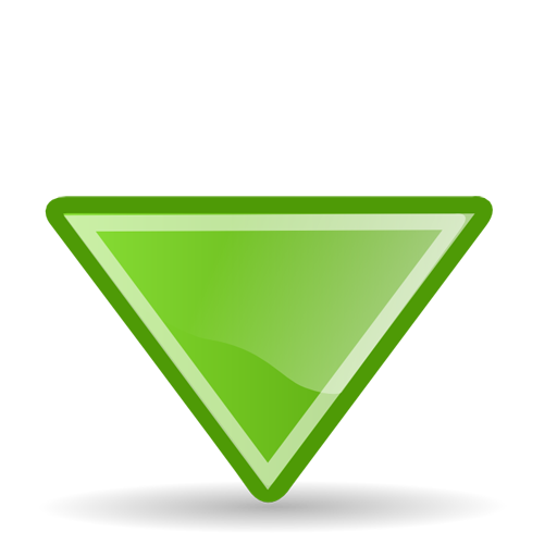 Collection Of Triangle Arrow Icons Free Download