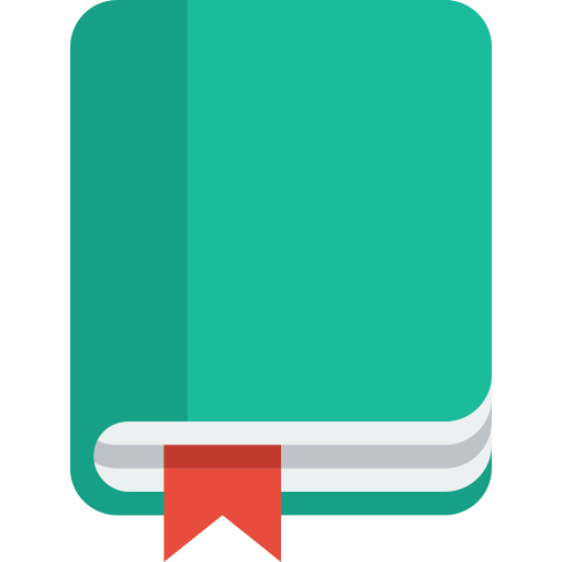 Book Bookmark Icon Small Flat Iconset Paomedia