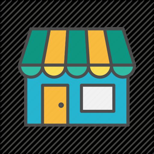 E Commerce, Merchant, Retail, Shop, Small Business Icon
