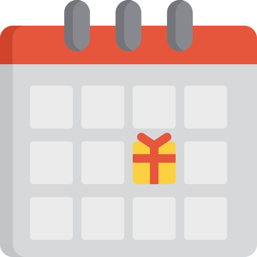 Arrival Calendar Png Icon