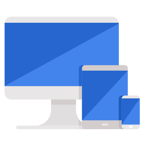 Mobile, Computer, Phone, Devices, Business, Responsive Icon