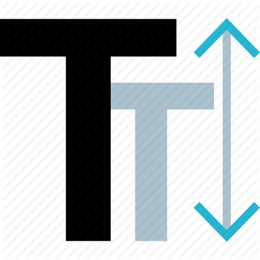 Caps, Editor, Small, Text Icon
