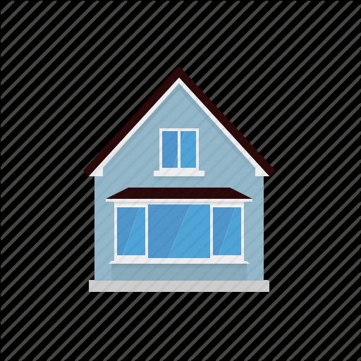 Architecture, Building, Home, House, Small, Suburban Icon