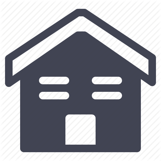 Architecture, Construction, Home, House, Property, Roof, Small Icon