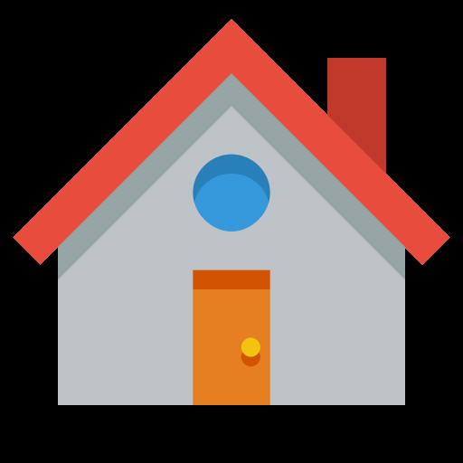 House Icon Small Flat Iconset Paomedia