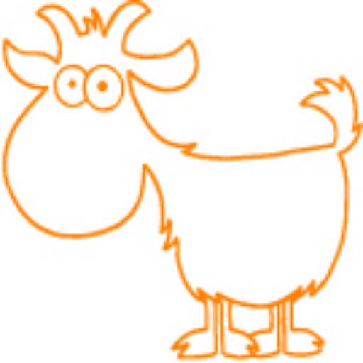 Cropped Goat Yoga Orange Small Icon Final Arizona Goat Yoga