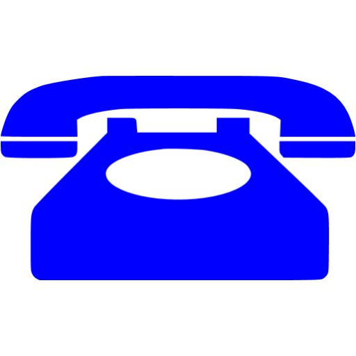 Free Phone Icon Blue Images