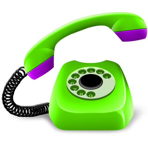 Gold Green Phone Icon Png