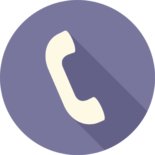 Phone Icon Long Shadow Media Iconset Pelfusion