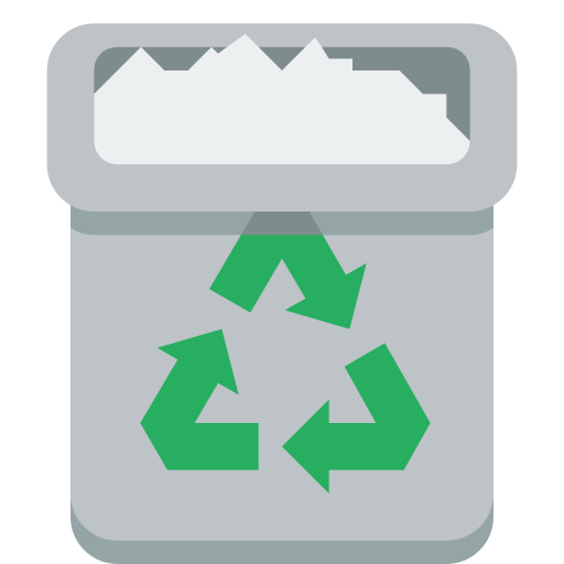 Trashcan, Full Icon Free Of Small Flat Icons