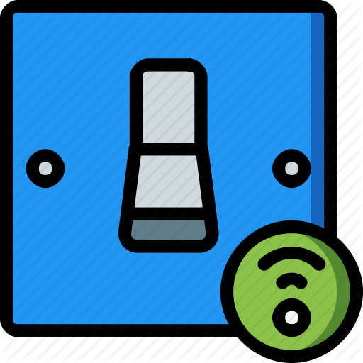 Home, Smart, Switch Icon
