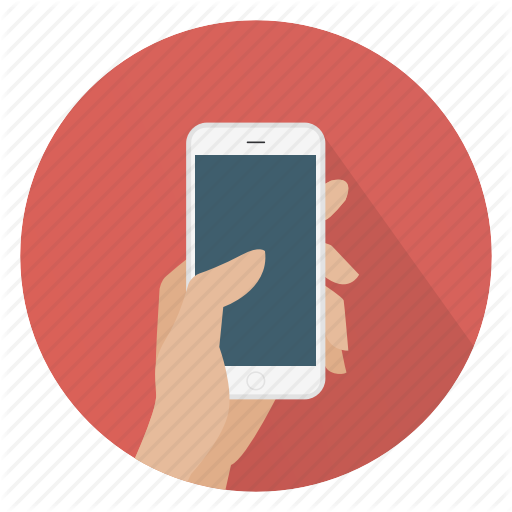 Hand, Iphone, Phone, Smartphone, Touch Icon