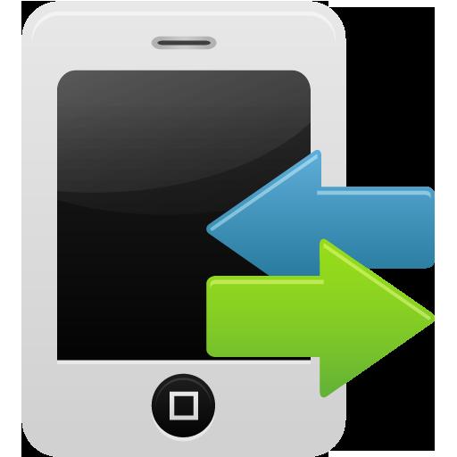 Smartphone Calls Record Icon Pretty Office Iconset Custom