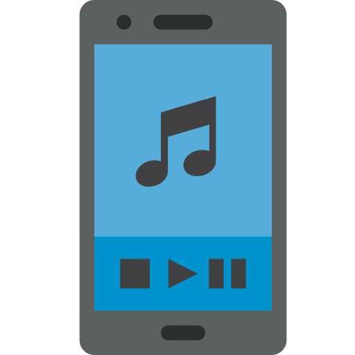 Listening, To, Music, Mobile, Phone, Smartphone Icon Free