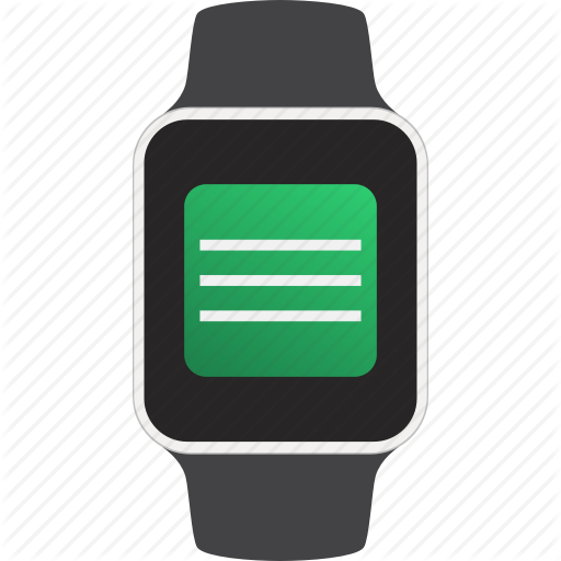 Device, Message, Smartwatch, Text, Wearable Icon