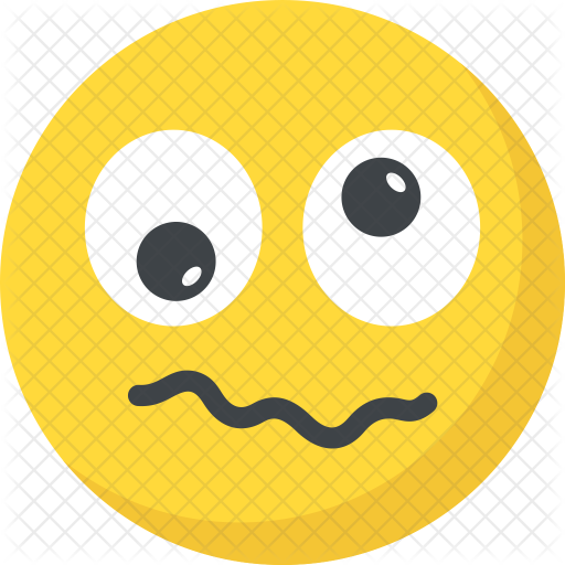 Confused Emoticon Transparent Png Clipart Free Download