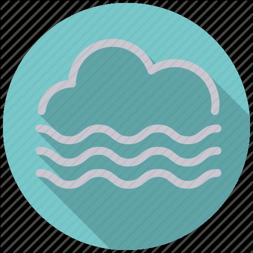 Climate, Cloud, Fog, Mist, Overcast, Smog, Weather Icon