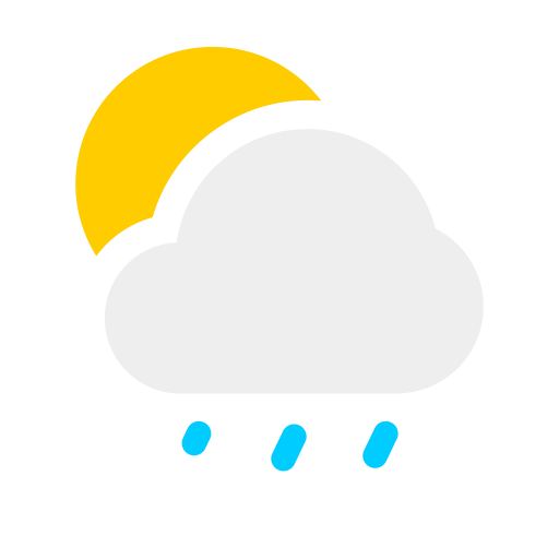 Rain, Rain Cloud, Raindrops Icon With Png And Vector Format
