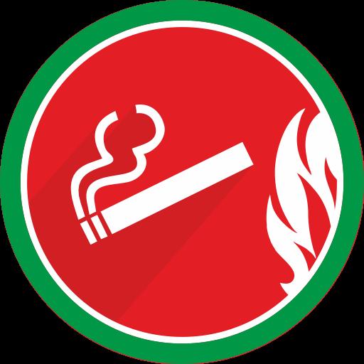 Smoke Flat Icon