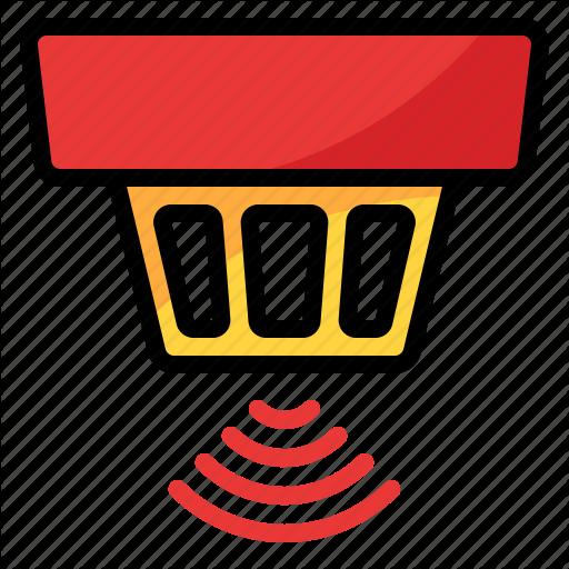 Detector, Device, Smoke, Wifi Icon