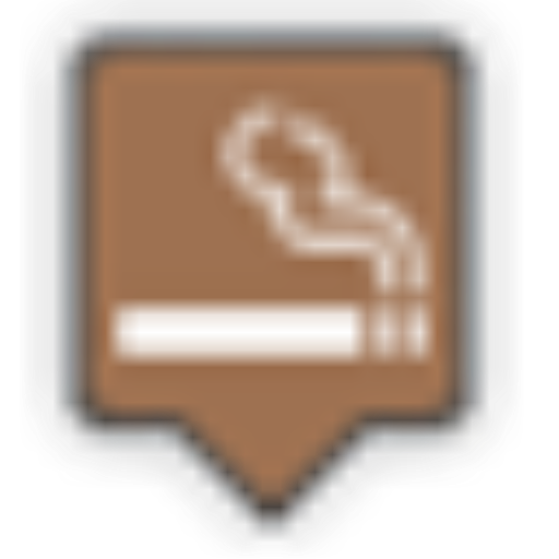 Smokingarea, Smoke Icon