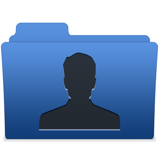 Smooth Navy Blue User Icon Free Search Download As Png