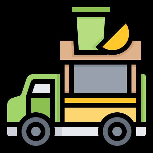 Bar, Fruit, Juice, Smoothie, Truck Icon Free Of Street Food