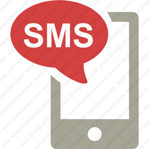 Download Apple,sms,iphone,incoming Sms,incoming Icon Inventicons