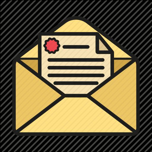 Envelope, Message, Open Envelope, Snail Mail Icon Icon