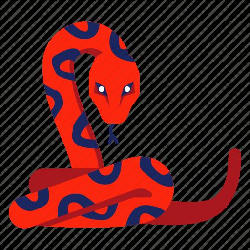 Animal, Chinese Zodiac, Python, Reptile, Serpent, Snake, Year Icon