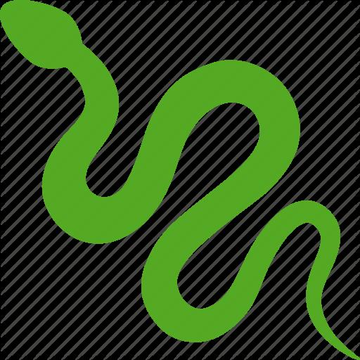 Green, Predator, Python, Reptile, Reptilia, Serpent, Snake Icon