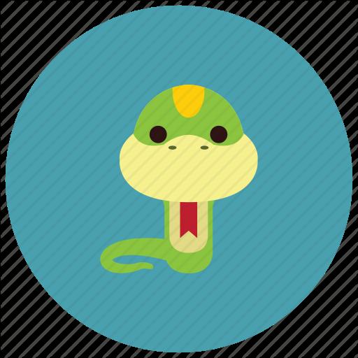 Adorable, Animals, Cute, Reptile, Snake, Tongue Icon