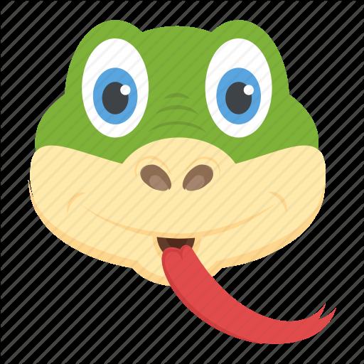 Animal, Reptile, Serpent, Snake Head, Viper Icon